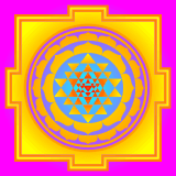 Sri Yantra Animated