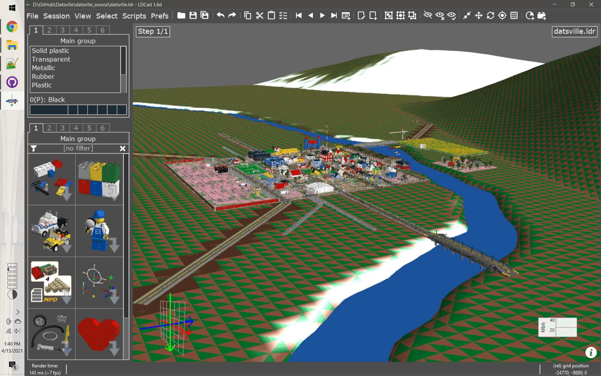 Terrain screenshot 1