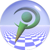 POV-Ray logo without sphere